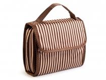 Kosmetická taška 20x23 cm cestovní (3 ks)