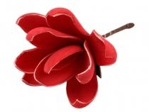 Dekorace květ 6,5x18 cm (6 ks)