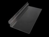 Plastová police 10,5x25 cm 2. jakost (1 ks)