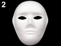 Maska na obličej k domalování (1 ks)