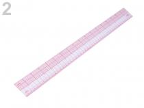 Pravítko na patchwork 5x45 cm (1 ks)