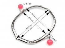 Rámeček na výrobu kosmetické taštičky 12,5x10 cm (1 ks)