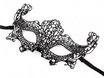 Karnevalová maska - škraboška krajková (1 ks)