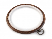 Vyšívací kruh Flexi Ø11 cm (1 ks)