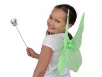 Motýlí křídla 50x52 cm s glitry (4 ks)