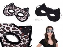 Karnevalová maska - kočka (1 ks)