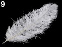 Pštrosí peří délka 60 cm zelená sv. 3ks Stoklasa