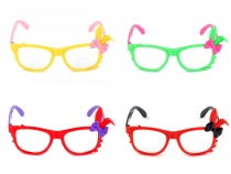 Karnevalové brýle bez skel (6 ks)