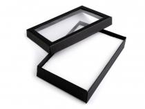 Krabička s průhledem polstrovaná 12x16 cm (4 ks)