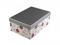 Papírová krabice s víkem 20x28 cm (4 ks)