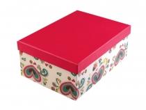 Papírová krabice s víkem 22x31 cm (4 ks)