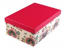 Papírová krabice s víkem 24x34 cm (4 ks)