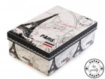 Papírová krabice s víkem 15x22 cm (1 ks)