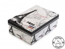 Papírová krabice s víkem 13x20 cm (1 ks)