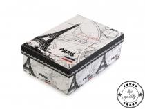 Papírová krabice s víkem 10x17 cm (1 ks)