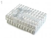 Krabička exklusivní s mašlí 7x9 cm (3 ks)