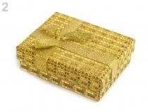 Krabička exklusivní s mašlí 7x9 cm (1 ks)