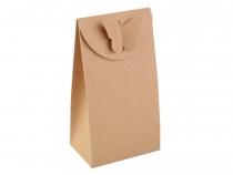 Papírová krabička 8x15 cm s motýlem (10 ks)