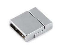 Magnetické zapínání ploché 3x14 mm (1 pár)