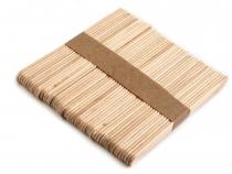 Dřevěné špachtle 0,9x11,4 cm malé (50 ks)