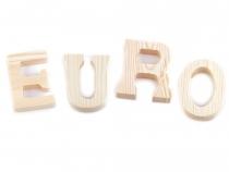 3D dekorace písmena a interpunkční znaménka (4 ks)
