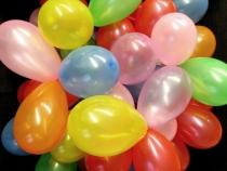 Nafukovací balónky malé (50 ks)