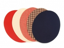 Nažehlovací záplaty mix rozměr 11x14 cm (100 sáček)