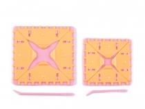 Sada na pletení čtverců (1 sada)