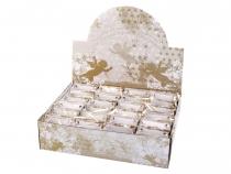 Dekorace anděl v dárkové tašce (24 ks)