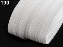 Zip spirálový šíře 4 mm pevný metráž (5 m)