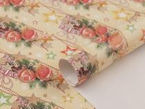 Balící papír vánoční 70x200 cm (6 ks)
