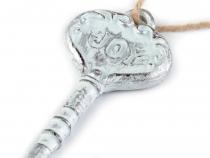 Dekorace klíč (6 ks)