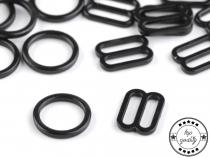 Posunovač a kroužek na prádlo šíře 10 mm (200 ks)