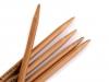 Bambusové ponožkové jehlice č. 3,5; 4; 4,5 Pony (1 sada)