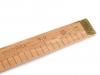 Metr dřevěný plochý s evropským cejchem (1 ks)