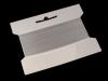 Silikonová pruženka / lastin šíře 6 mm elastická (20 m)