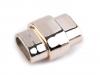 Plastové magnetické zapínání 4x10 mm ploché (1 pár)