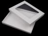 Krabice papírová s průhledem 25x220x270mm (1 ks)