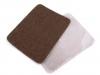 Nažehlovací záplaty rozměr 9,5x12,5 cm riflové (1 sáček)