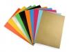 Papír barevný samolepící 21x29cm (1 sada)