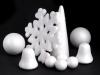 Vzory polystyren mix (1 sáček)