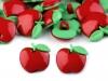 """Knoflík dětský velikost 26"""" a 28"""" ovoce (50 ks)"""