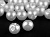 Knoflík perla Ø10 mm na svatební šaty (100 ks)