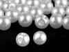 Knoflík perla Ø9 mm na svatební šaty (100 ks)