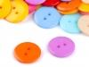 """Knoflík barevný mix velikost 28"""" (100 ks)"""