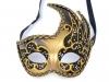 Karnevalová benátská maska BIANCA (1 ks)