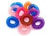 Gumička do vlasů HANA plastová pružinka (10 ks)