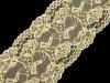 Elastická krajka / vsadka / běhoun šíře 150 mm (13.5 m)