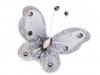 Motýl s kamínky 5x5,5 cm (2 ks)