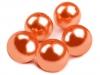 Plastové korálky Glance / perly Ø20 mm (5 ks)